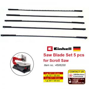 Saw Blade Set 5 pcs for Scroll Saw