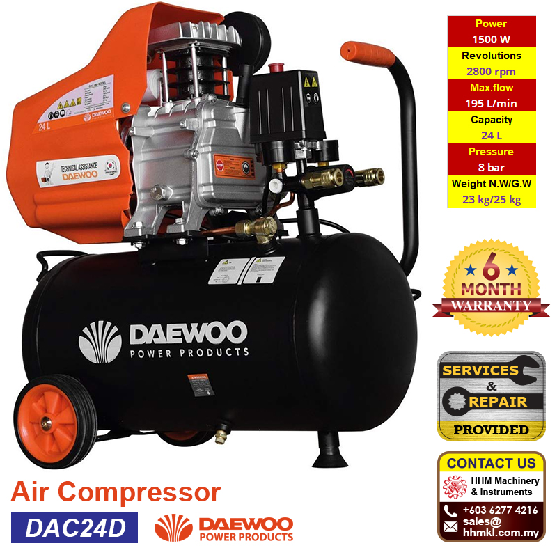 DAEWOO Air Compressor DAC24D