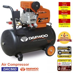 DAEWOO Air Compressor DAC50D