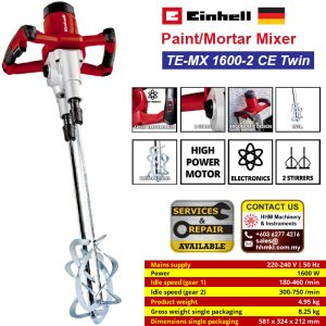 EINHELL Paint/Mortar Mixer TE-MX 1600-2 CE Twin