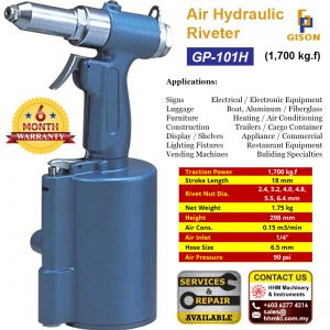 Air Hydraulic Riveter (1,700 kg.f) GP-101H