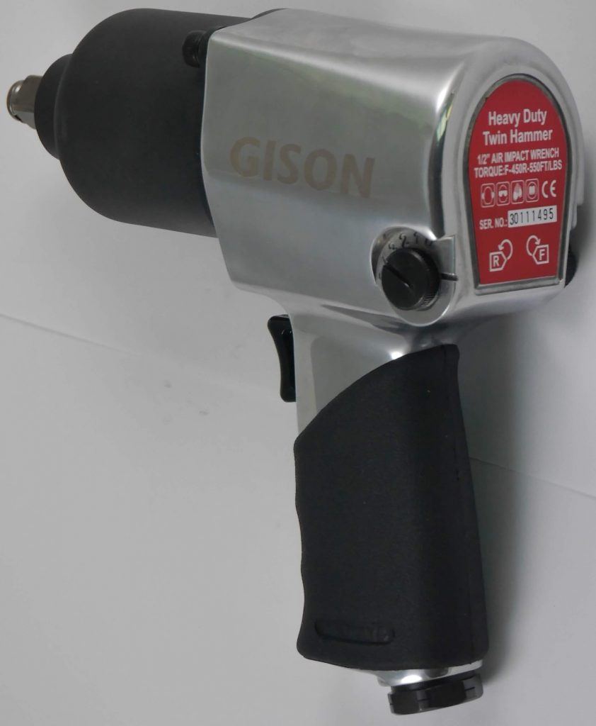 "GISON 1/2"" 400 ft.lb Air Impact Wrench GW-19D"