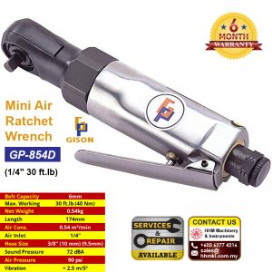 1/4″ Mini Air Ratchet Wrench (30 ft.lb) GP-854D