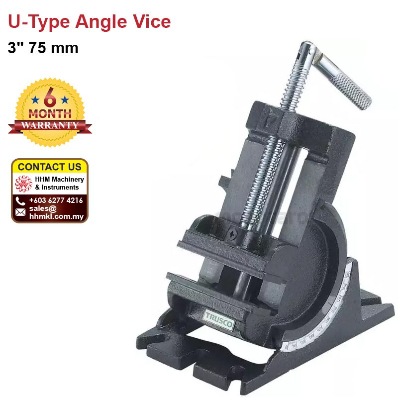 "3"" 75 mm U-Type Angle Vice"
