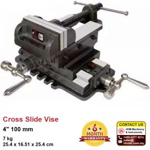 4″ 100 mm Cross Slide Vise