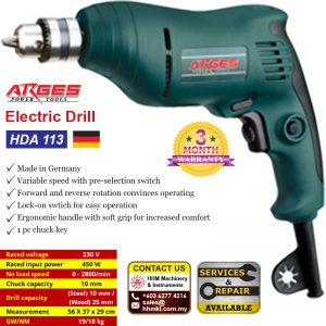 ARGES Electric Drill HDA 113