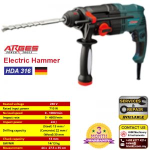 ARGES Electric Hammer HDA 316