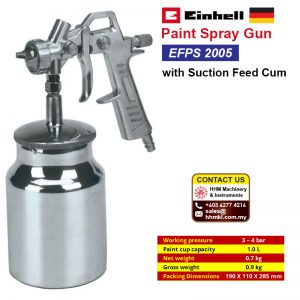 Paint Spray Gun with Suction Feed Cum EFPS 2005