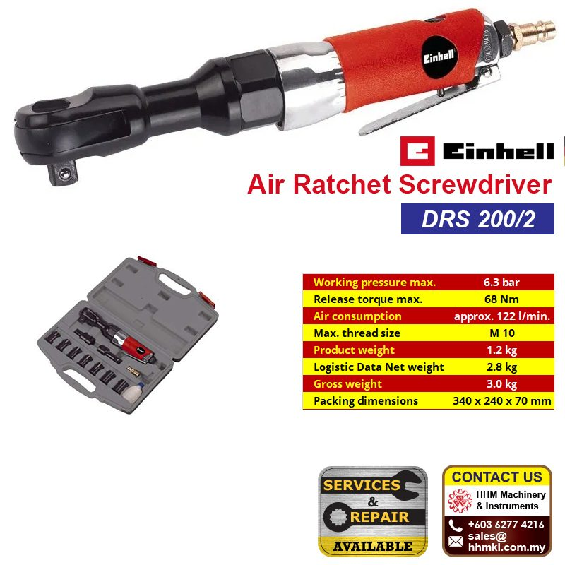 EINHELL Air Ratchet Screwdriver DRS 200/2