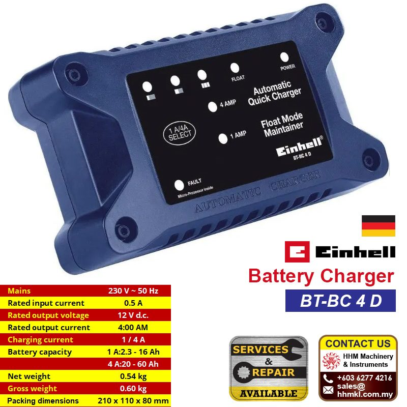 EINHELL Battery Charger BT-BC 4 D