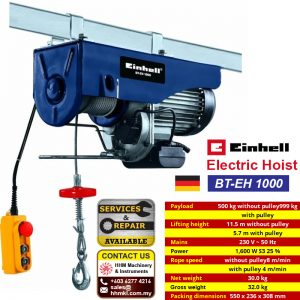 Electric Hoist BT-EH 1000