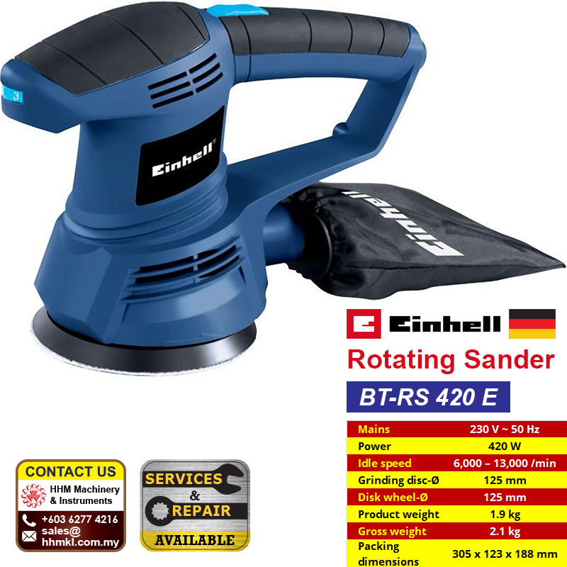 EINHELL Rotating Sander BT-RS 420 E