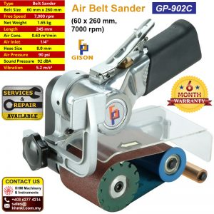 Air Belt Sander (60 x 260 mm,7000 rpm) GP-902C