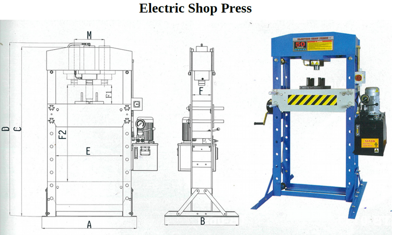 HANDIJACK Electric Shop Press