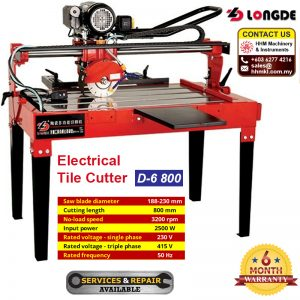 Electrical Tile Cutter D-6 800