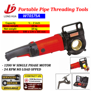 Portable Pipe Threading Tool