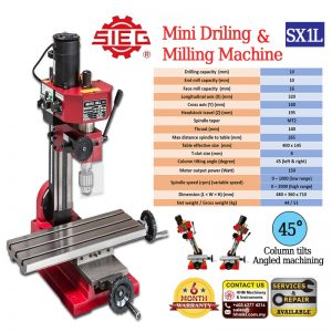 SIEG Mini Drilling & Milling Machine SX1L