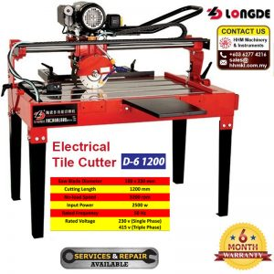 Electrical Tile Cutter D-6 1200