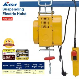 BADA Suspending Electric Hoist HH500A