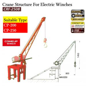 COMEUP Electric Winch Crane Structure CRF-2508