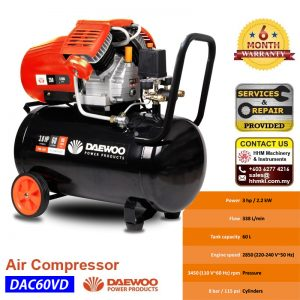 DAEWOO Air Compressor DAC60VD