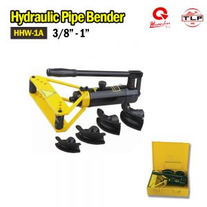 HUANHU Manual Hydraulic Pipe Bender HHW-1A