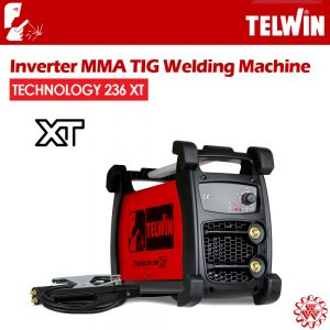 TELWIN Inverter MMA TIG Welding Machine – TECHNOLOGY 236 XT