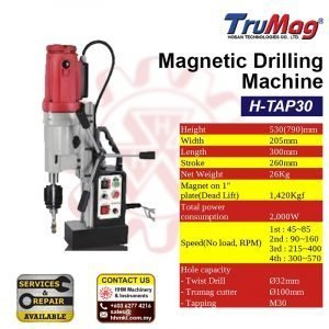 TRUMAG Magnetic Drilling Machine H-TAP30