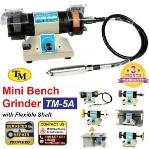 CHANGZHOU TM Mini Bench Grinder, With Flexible Shaft TM-5A