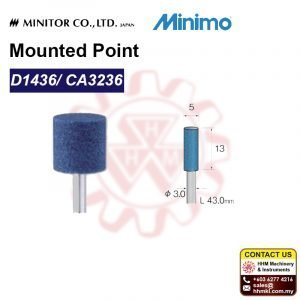MINIMO Mounted Point D1436/ CA3236