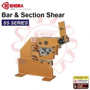 EHOMA Bar & Section Shear SS SERIES