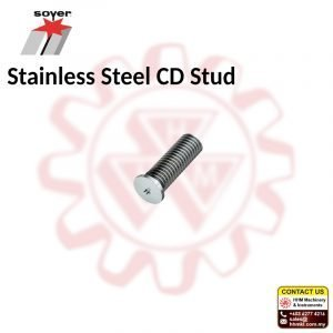 SOYER Stainless Steel CD Stud