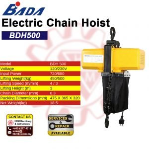 BADA Electric Chain Hoist BDH500