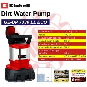 EINHELL Dirt Water Pump GE-DP 7330 LL ECO