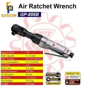 GISON 1/2″ Air Ratchet Wrench GP-856B