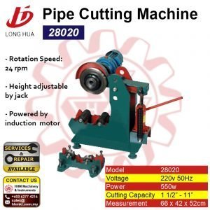 LONG HUA Pipe Cutting Machine 28020